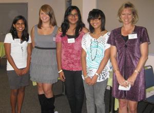 2010 Tech Trek Scholarship Recipients